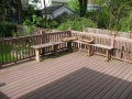 Finished Brown Wood Deck 2