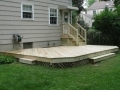Finished Deck Without Railing